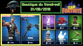 "FORTNITE Boutique of August 31, 2018, New Skins ""Biker"" - ""Chopper"" from the Gang of Motorcycles set"