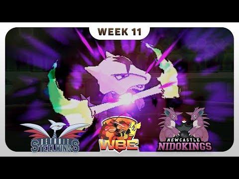WBE World Battle Entertainment Pokemon WiFi Battle | CrimsonCBAD vs Patterrz' Newcastle Nidokings