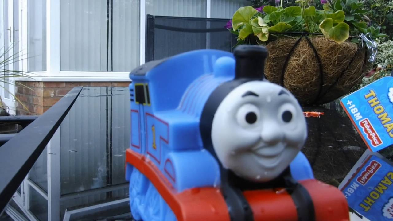 Thomas The Tank Water Squirter Review - YouTube