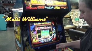 Williams MULTIWILLIAMS with Robotron, Joust, Sinistar, Defender! TNT Amusements
