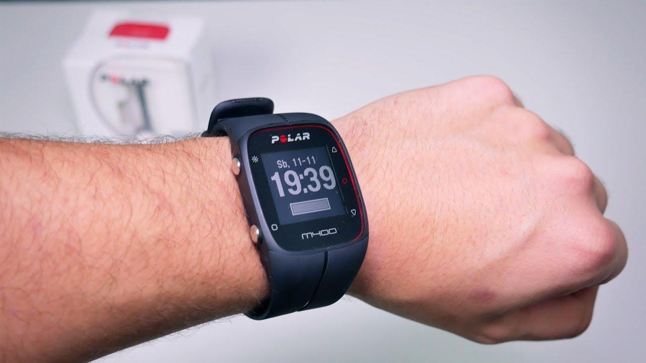 0b46c081 Polar m400 - Zegarek treningowy zamiast telefonu? - YouTube