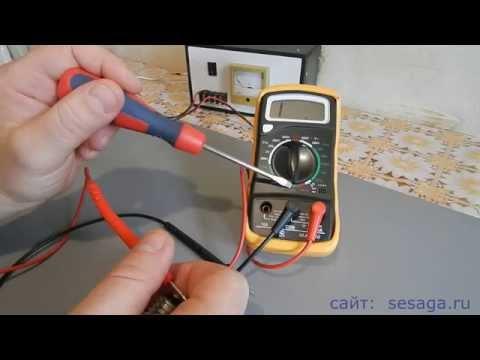 Как пользоваться мультиметром. Часть 2. Измерение сопротивления и постоянного тока
