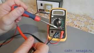 Как пользоваться мультиметром.Часть 2. Измерение сопротивления и постоянного тока(В этой части рассказывается как измерить сопротивление и постоянный ток. А также оставшиеся функции измере..., 2014-12-07T12:29:48.000Z)