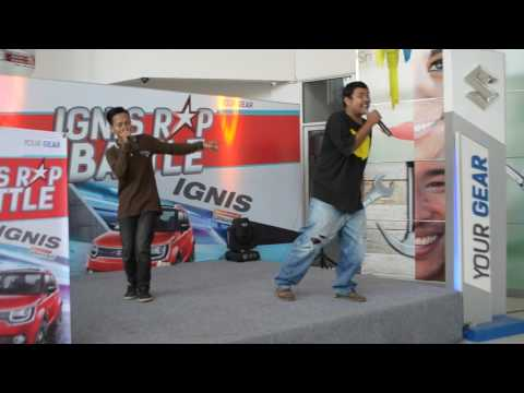 FREESTYLE Artefak-i, Dk-Snoop, BeatBox Kunto (Hip Hop Lampung Movement)