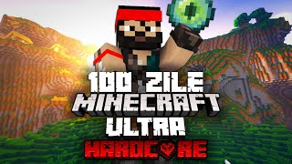 Am Supravietuit 100 Zile pe Minecraft Ultra Hardcore! [Amplified World]