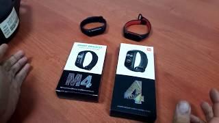 M4 VS MiBand 4 Comparation