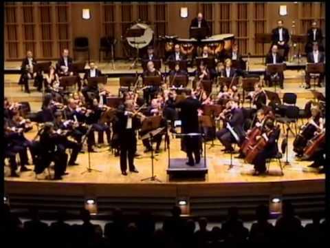 PIOTR BORKOWSKI conducts Z. STOJOWSKI - VIOLIN CONCERTO 1st mov. - 1st part
