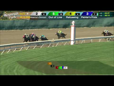 video thumbnail for MONMOUTH PARK 10-14-20 RACE 5