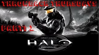 Halo Combat Evolved : Part 1 (Throwback Thursdays)