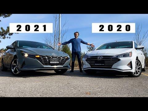 2021 Hyundai Elantra vs 2020 Elantra, worth the switch!