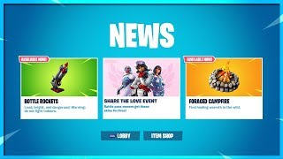 FORTNITE SHARE THE LOVE EVENT! NEW SKIN STYLES COMING SOON! FORTNITE BATTLE ROYALE!