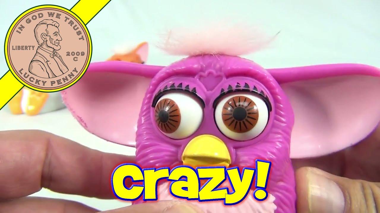 1998 Furby McDonald's Happy Meal Toys Lot - YouTube