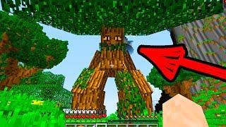 Как Говорят Деревья?! в Деревне Жителей в Майнкрафт. Мультик Грут, энт