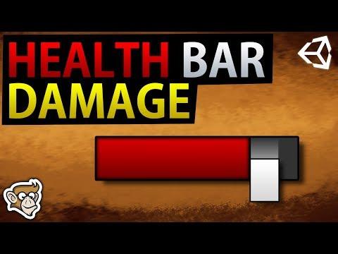 Health Bar Damage Taken Effects (Unity Tutorial)