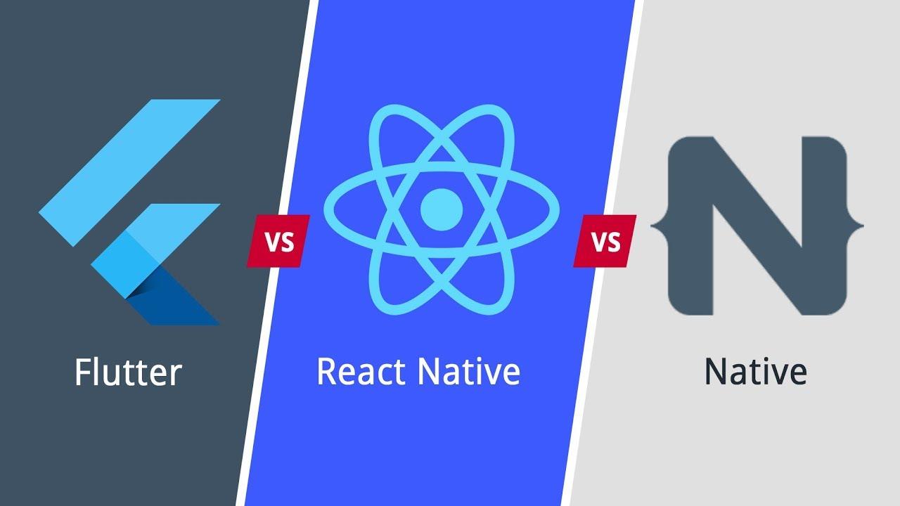 The Mobile Frameworks Battle | Flutter Vs React Native Vs Native App  Development | Eduonix
