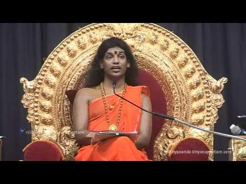 Pranayama Technique for Kundalini Awakening (Yoga Sutras 101) Nithyananda Satsang 23 Jan 11