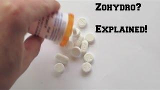 Zohydro? Let's cut through the nonsense.