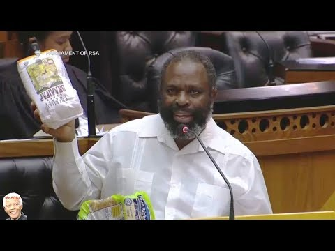 Willie Madisha Demonstrates The Price Of Bread And Pap