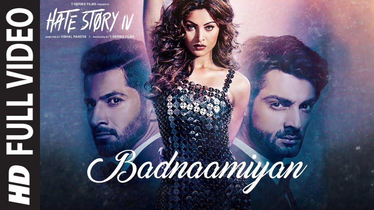 Badnaamiyan Full Video Song Hate Story Iv Urvashi Rautela Karan Wahi Armaan Malik