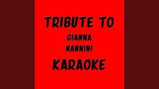 Suicidio d'amore (Karaoke version Originally Performed By gianna nannini)
