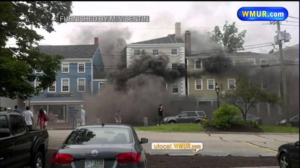 3-Alarm fire breaks out in Portsmouth