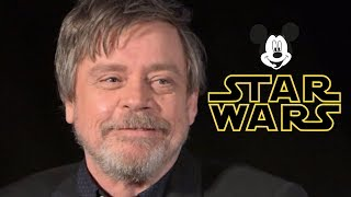 Proof that Mark Hamill is NOT Happy with DISNEY'S STAR WARS