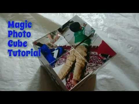 DIY Magic Photo Cube Tutorial | How To | Craftlas