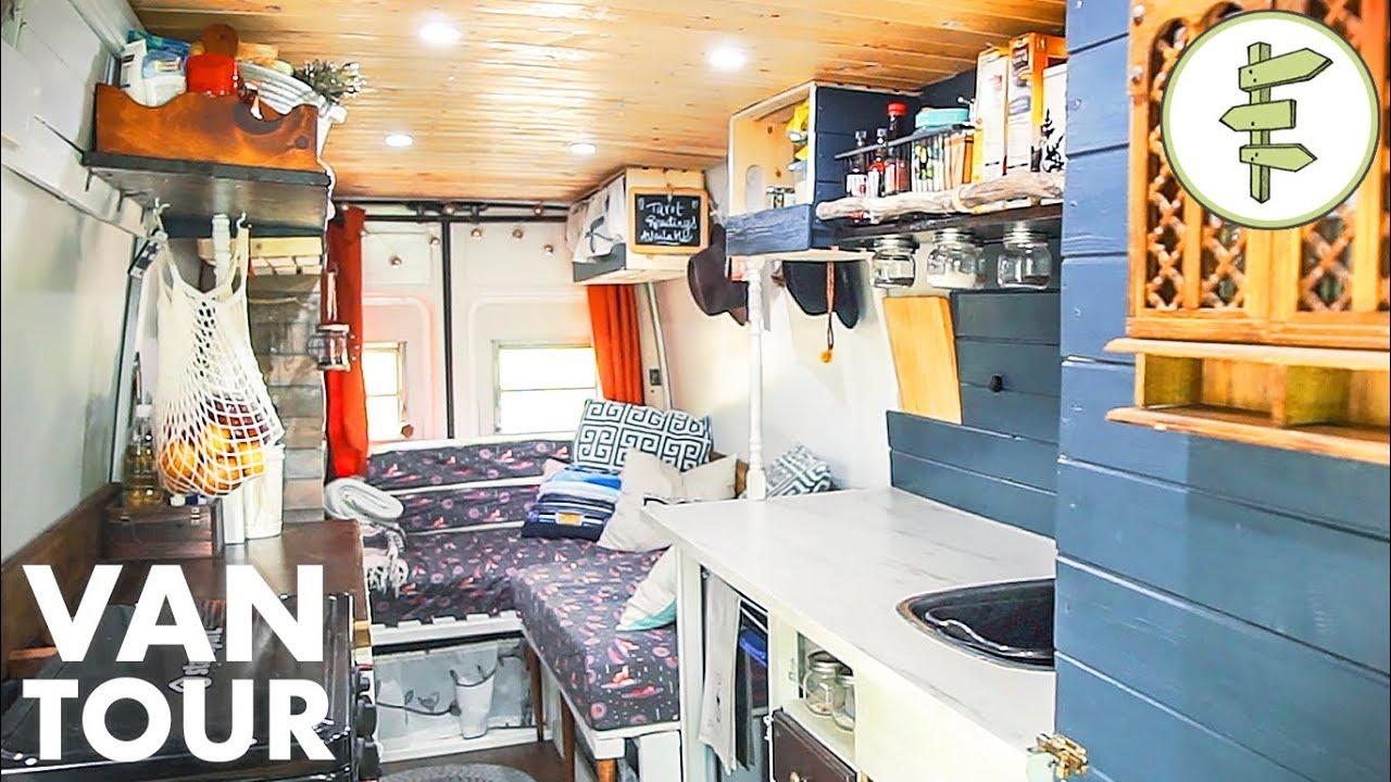 This Budget Diy Camper Van Is