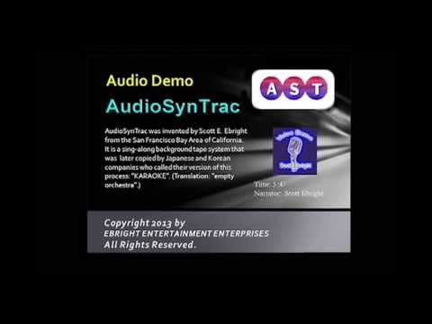 Original Karaoke Inventor Scott Ebright narrates Demo tape on AudioSynTrac