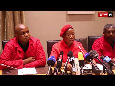 EFF reacts to former President Jacob Zuma's resignation