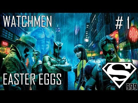 Watchmen: Hidden Easter Eggs & Secrets Part # 1