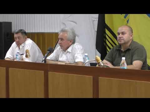 Расширенное заседание Президиума Торецкого теркома ПРУПУ.