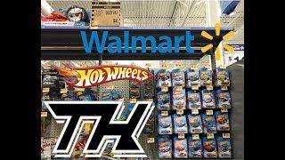 Wal-Mart Hot Wheels 2018 F Case Super Treasure Hunt Peg Scores! ISM