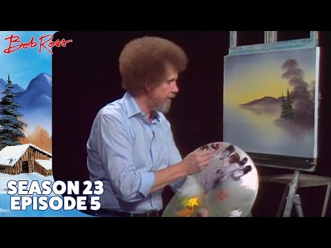 Bob Ross - Quiet Cove (Season 23 Episode 5)