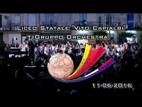 """11-06-2016 gruppo orchestra - Liceo Magistrale Statale """"Vito Capialbi"""" - Vibo Valentia"""