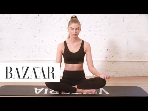 How Victoria's Secret Model Stella Maxwell Gets Zen | Harper's BAZAAR