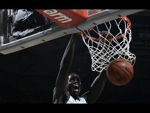 Highlights: Thon Maker's Career High vs. Pistons   3.31.17