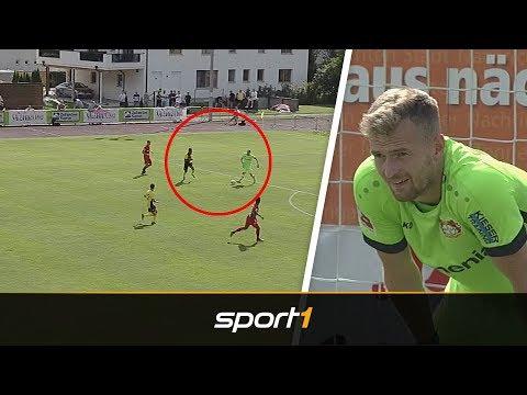 Mega-Patzer von Hradecky: Leverkusen verliert Testspiel gegen FC Watford | SPORT1