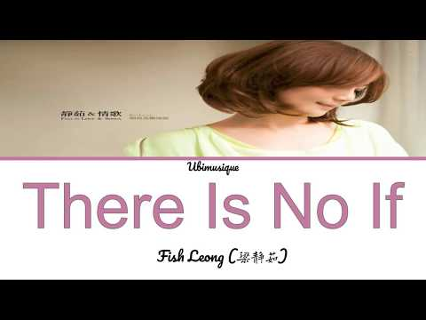 Fish Leong (梁静茹) - There Is No If (没有如果) Lyrics (Color Coded Chinese/Pinyin/English)
