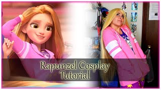 Wreck it Ralph 2: Casual Rapunzel Cosplay Tutorial