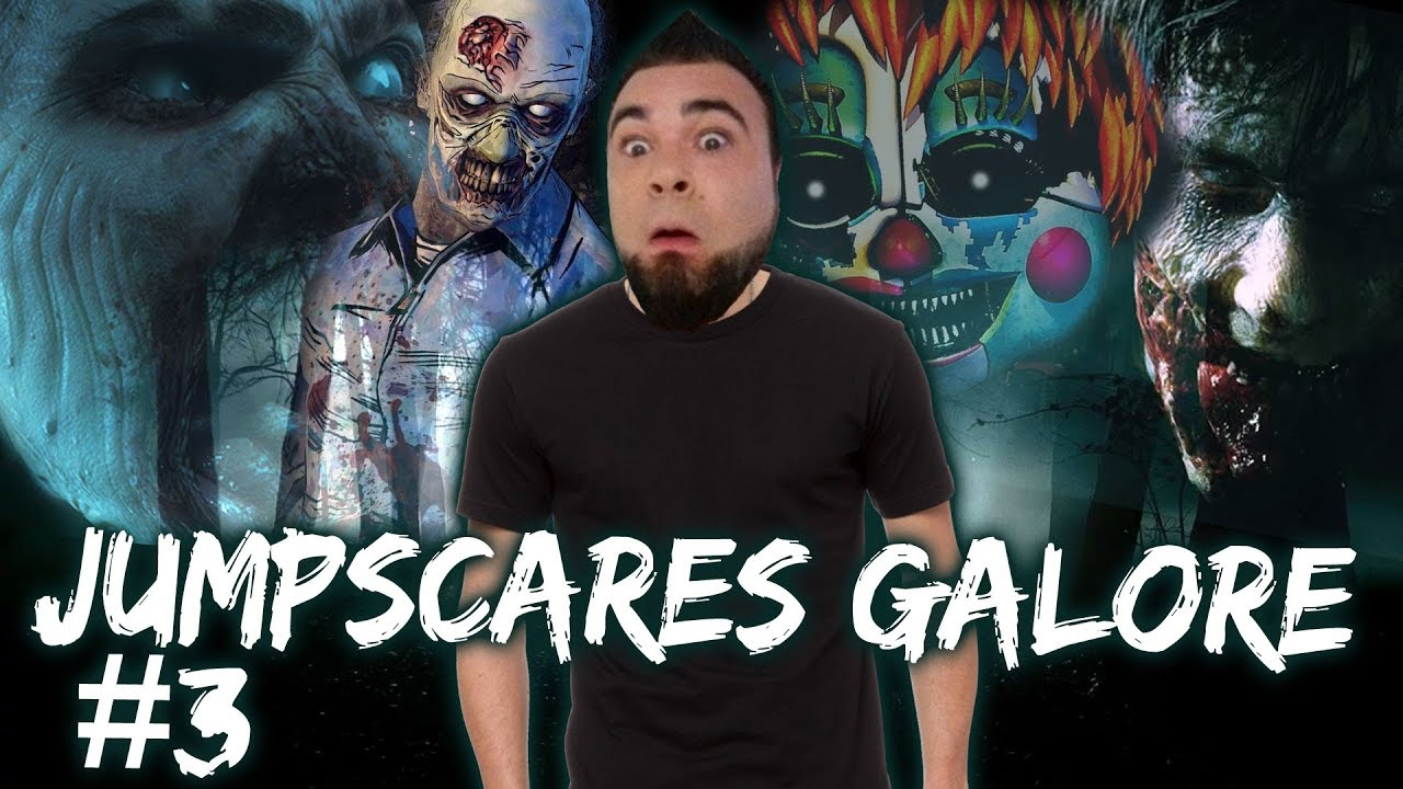 Horror Game Reactions Compilation 3 Jumpscares Galore
