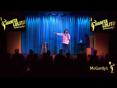 Juanita Lolita with Arsenio Hall at McCurdys Comedy Theater