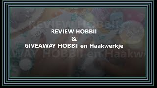Review  HOBBII & GIVEAWAY HOBBII en Haakwerkje