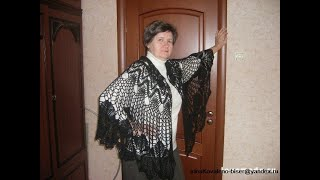 Вязаниесхемы. Аристократичность ШАЛЕЙ крючком. Crochet