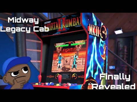 IT'S A REAL BOY!!! Arcade1up Midway Legacy Cabinet Officially Announced from MikeOfAllTrades