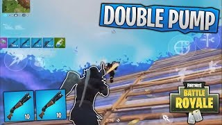 DOUBLE PUMPING IN FORTNITE MOBILE WITH EASE! (DuckyTheGamer Highlights #13)