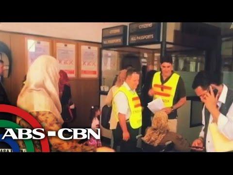 Pinoys fleeing Libya reach Malta