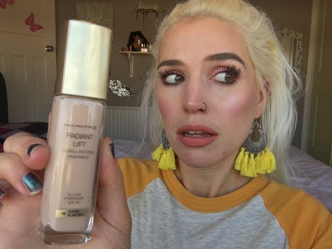 b7c1b5cd1af Max Factor 'RADIANT LIFT' Foundation Review // (Didn't Expect This) -  YouTube