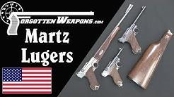 John Martz Custom Luger Pistols - Babies, Carbines, and .45 ACP Conversions
