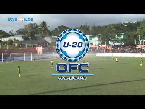 2016 OFC U20 | Vanuatu v Papua New Guinea - Highlights